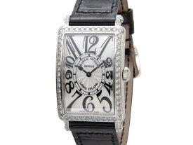 増税前の大決算セール フランクミュラー FRANCK MULLER ロングアイランド 952QZD1R クロコダイル レディース 腕時計 新品 【送料無料】