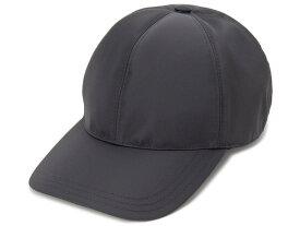 プラダ PRADA キャップ 帽子 2HC274-2B15-F0002 Lサイズ ナイロン ロゴ ブラック メンズ レディース