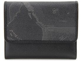 PRIMA CLASSE プリマクラッセ 三つ折り財布 W064-7426-0001 地図柄 ブラック 新品