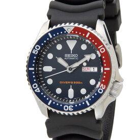 セイコー SEIKO メンズ 腕時計 SKX009K ダイバーズ 200m防水 オートマティック 海外モデル ブラック 新品 【送料無料】