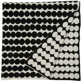 エントリーでポイント5倍(P5 5/9〜5/16) Marimekko マリメッコ ブランケット 67372-190 182cm×130cm ラシィマット ドット柄 大判 北欧