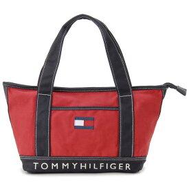 トミーヒルフィガー TOMMY HILFIGER トートバッグ レディース TC940HD9 TH-814 キャンバストート レッド