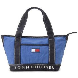 トミーヒルフィガー TOMMY HILFIGER トートバッグ レディース TC940HD9 TH-814 キャンバストート ロイヤルブルー