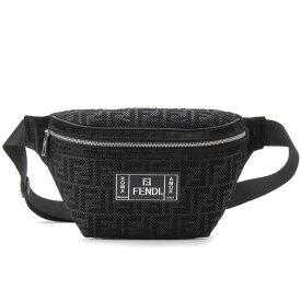 フェンディ FENDI ボディバッグ メンズ レディース ブラック 7VA434 A7S8 F0GXN BELT BAG ウエストバッグ