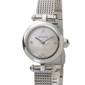 エントリーでポイント5倍(P5 5/9〜5/16) グッチ GUCCI レディース 腕時計 YA141512 DIAMANTISSIMA ディアマンティッシマ シルバー ウォッチ 時計