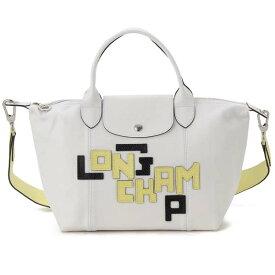 ロンシャン LONGCHAMP トートバッグ レディース ホワイト 1512 755 007 プリアージュ キュイール LGP S