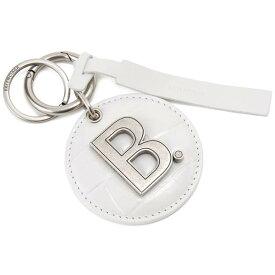 バレンシアガ BALENCIAGA キーリング ホワイト 594917 1LR0Y 9016 ロゴ キーホルダー