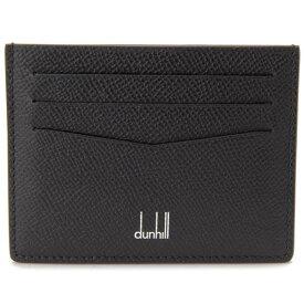 ダンヒル DUNHILL カードケース メンズ ブラック DU18F220CCA 001 CADOGAN カドガン 定期入れ パスケース