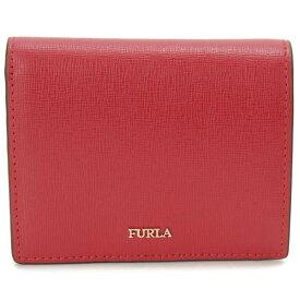 フルラ FURLA 二つ折り財布 レディース レッド 1045889 BABYLON バビロン コンパクト 財布