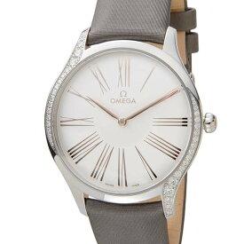 ポイント5倍(3/4-3/11) オメガ OMEGA レディース 腕時計 デビル トレゾア 428.17.39.60.02.001 DE VILLE ダイヤベゼル 当店5年保証
