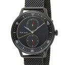 ポールスミス Paul Smith メンズ 腕時計 BH2-049-51 Church Street チャーチ・ストリート クロノグラフ ブラック ウォッチ