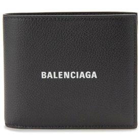 バレンシアガ BALENCIAGA 二つ折り財布 メンズ ブラック 黒色 594315 1IZ43 1090 財布