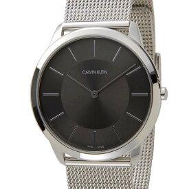 カルバンクライン Calvin Klein 腕時計 CK メンズ ブラック K3M2T124 Minimal ミニマル スイス製