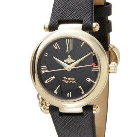 ヴィヴィアン・ウエストウッド Vivienne Westwood 腕時計 レディース ブラック×ゴールド VV006GDBLK 女性用