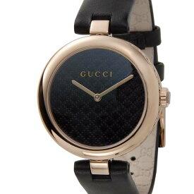 グッチ GUCCI 腕時計 レディース ブラック×ピンクゴールド YA141401 ディアマンティッシマ