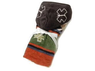 彭德魯噸PENDLETON fudettotaoru/嬰兒&小孩食物從屬于的毛巾74*88.5cm XB238-52744 Bird Song/鳥歌
