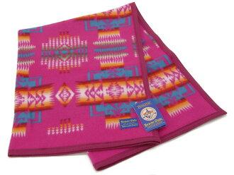 彭德鲁吨PENDLETON羊毛毯ZD632-51127 chifujosefuchachobebiburanketto围裙/毯子CHERRY分娩祝贺