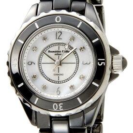 訳あり(細かいキズあり) ラメットベリー Rametto Belly 時計 レディース RAB2101 ホワイト×ブラック セラミックレディースウォッチ 新品