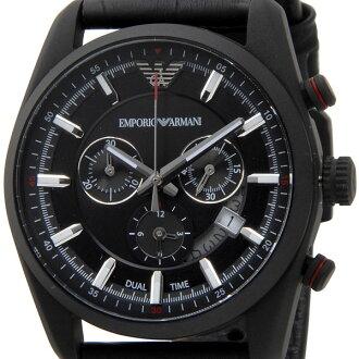 emporioarumani EMPORIO ARMANI人手表AR6035 SPORTIVO计时仪石英黑色
