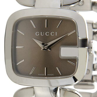 1d7f20266b1 And GUCCI Gucci YA125507 G-COLLECTION G collection bronze   silver ladies  watch 2015 brand bags
