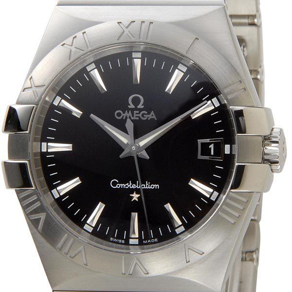 オメガ OMEGA コンステレーション ブラック 123.10.35.60.01.001 メンズ 腕時計 ブラック/シルバー 新品 送料無料 新品