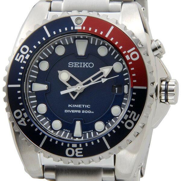 セイコー SEIKO ダイバーズ メンズ 腕時計 SKA369P1 KINETIC キネティック搭載 200M防水 新品
