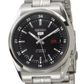 セイコー SEIKO セイコーファイブ SEIKO5 腕時計 SNK567J1 自動巻き ブラック メンズ セイコーウオッチ 新品