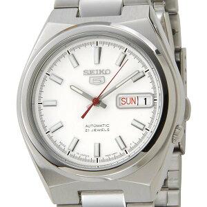 セイコーseikoメンズ腕時計SNKC45J1ホワイト×シルバー【楽ギフ_包装】【カード決済可】【YDKG-m】