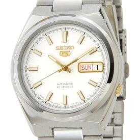 セイコー SEIKOファイブ メンズ 腕時計 SNKC47J1 ホワイト セイコーウオッチ 新品