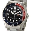セイコー SEIKO セイコーファイブ SEIKO5 腕時計 自動巻き SESNZF15J1 ブラック メンズ セイコーウオッチ