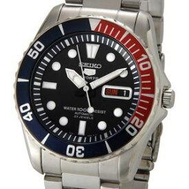 セイコー SEIKO セイコーファイブ SEIKO5 腕時計 自動巻き SESNZF15J1 ブラック メンズ セイコーウオッチ 新品 送料無料