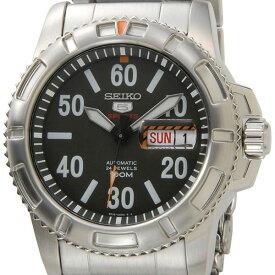 セイコー SEIKO SEIKO5 スポーツ 腕時計 SRP215K1 自動巻き メンズ カーキ/シルバー セイコーウオッチ 新品