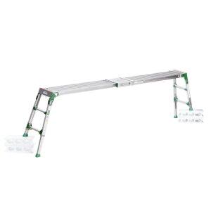 脚立 踏み台 ステップ 高所 洗車 ALINCO(アルインコ) 伸縮天板・伸縮脚付足場台 VSR-1709F
