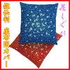 【日本製】5枚1組座布団カバー銘仙判サイズ花しぐれ55×59cm