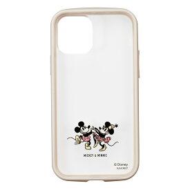 IJOY iPhone12 / iPhone12 Pro対応 ディズニー 透明 クリアケース ミッキーマウス&ミニーマウス チップ&デール 101匹わんちゃん バターカップ ロッツォ