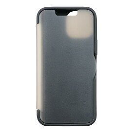 iPhone13 mini 対応 薄型 CAT FLIP 手帳型 自動で閉じて画面を守る 磁石無し ブラック ネイビー カモフラージュ サンクレスト
