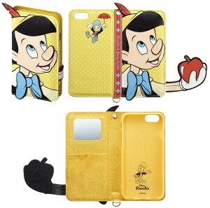 iPhone6Sケースダイカットカバー手帳型ディズニーDisneyミッキーミニードナルドデイジーチップデールクラリスポテトヘッドレックスi6S-DN05i6S-DN06i6S-DN07i6S-DN08i6S-DN09iDressサンクレスト