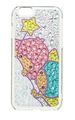 【iPhone6専用】iPhone6リトルツインスターズジュエリーカバー【スマホスマートフォンケースキキララサンリオ手帳型】