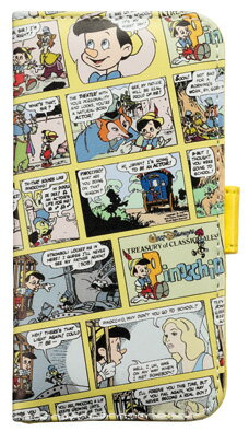 【iPhone6専用】ディズニーDisneyダイアリーカバー【スマホスマートフォンケース手帳型眠れる森の美女ピノキオダンボ】