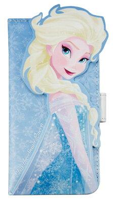 【iPhone6専用】ディズニーダイカットカバー【スマホスマートフォンケース手帳型アナと雪の女王アナ雪エルサ】