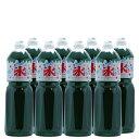 かき氷(カキ氷)シロップ【メロン】 1.8Lペットボトル×8本 (業務用ケース販売)