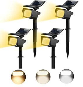 色:4セット サイズ:4セット MEIKEE【最新版】 ソーラーライト 屋外 ソーラー スポットライト ガーデン せんさーらいと 防犯らいと ソーラー センサーライト led 防水 埋め込み ブラック 外灯