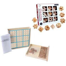 色:2点セット ABINECS 脳トレ 立体パズル 数独パズル (2種セット) 脳トレーニング パズル ゲーム 立体
