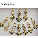 ビンディ:ゴールド / ビンディー ベリーダンス インド サリー アクセサリー 民族衣装