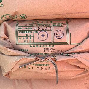 【新米】【令和2年産】コシヒカリ 玄米30Kg【農家直送】【10kgずつに小分け致します】