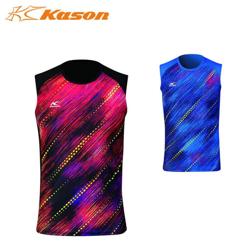 Kason FVSM001 メンズ ノースリーブゲームシャツ カーソン【即日出荷/ クリックポスト発送可】