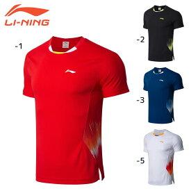 LI-NING AAYN261 ゲームシャツ 中国ナショナルチーム(ユニ/メンズ) バドミントンウェア リーニン【日本バドミントン協会審査合格品】