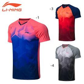 LI-NING AAYN269 ゲームシャツ(ユニ/メンズ) バドミントンウェア リーニン【日本バドミントン協会審査合格品/ クリックポスト可】