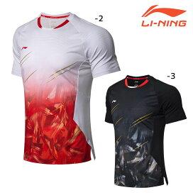 LI-NING AAYN305 ゲームシャツ インターナショナルチーム(ユニ/メンズ) バドミントンウェア リーニン【日本バドミントン協会審査合格品】