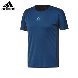 adidas DP4065 クラブシャツ ネイビー バドミントンウェア アディダス【クリックポスト可/取り寄せ】